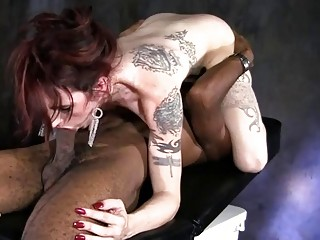 Black dude gets to slam a tattooed t-girl