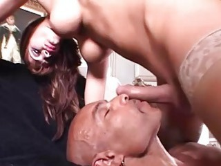 Astonishing tranny with nice tits gets fucked by her lover
