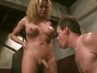Needy TS loves to dominate and ass fuck