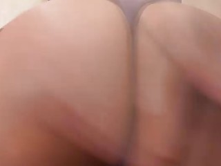 TS Nicole Sache Ass Toyed And Fisted