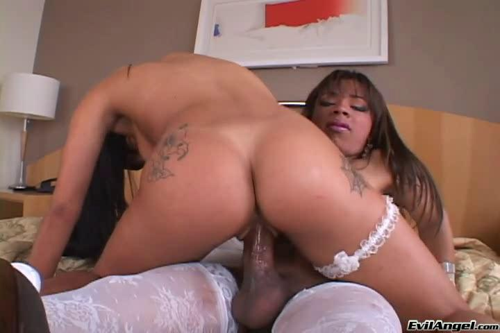 Big Black Girl Riding Dick