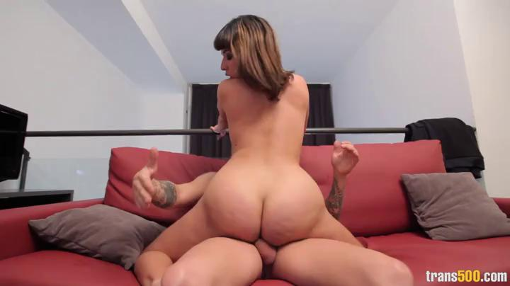 Big Oiled Ass Riding Creampie